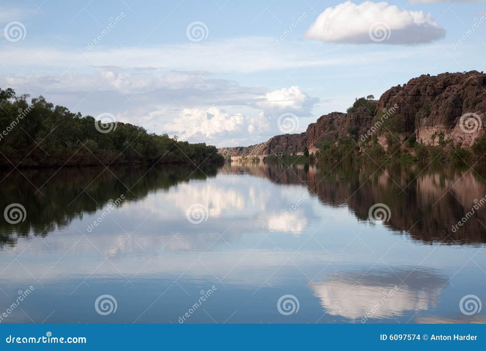 Geiki峡谷横向