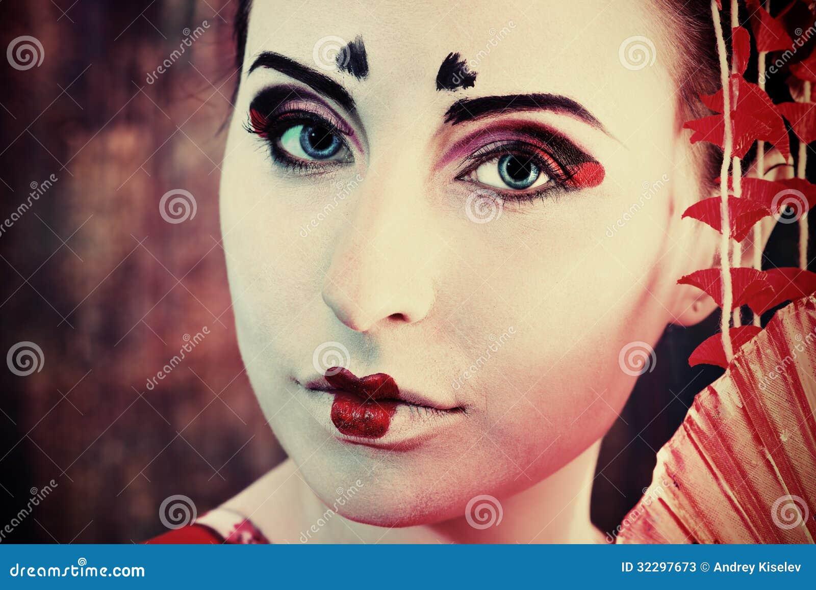 Historia del maquillaje geisha