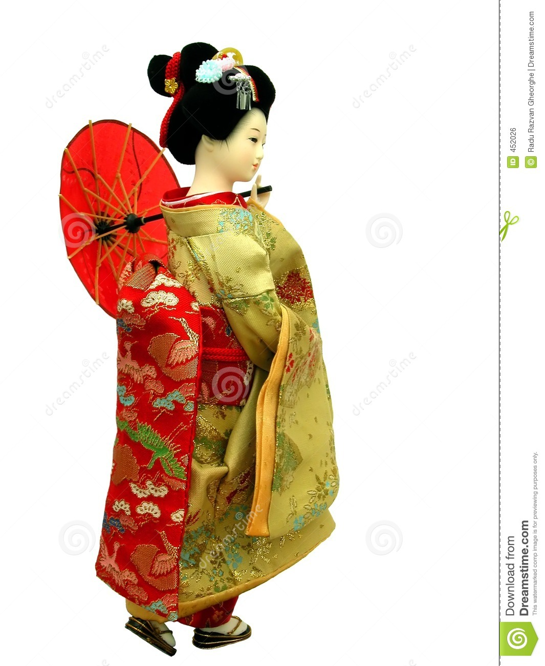 Download Geisha Doll stock photo. Image of craftsmanship, asia, culture - 452026