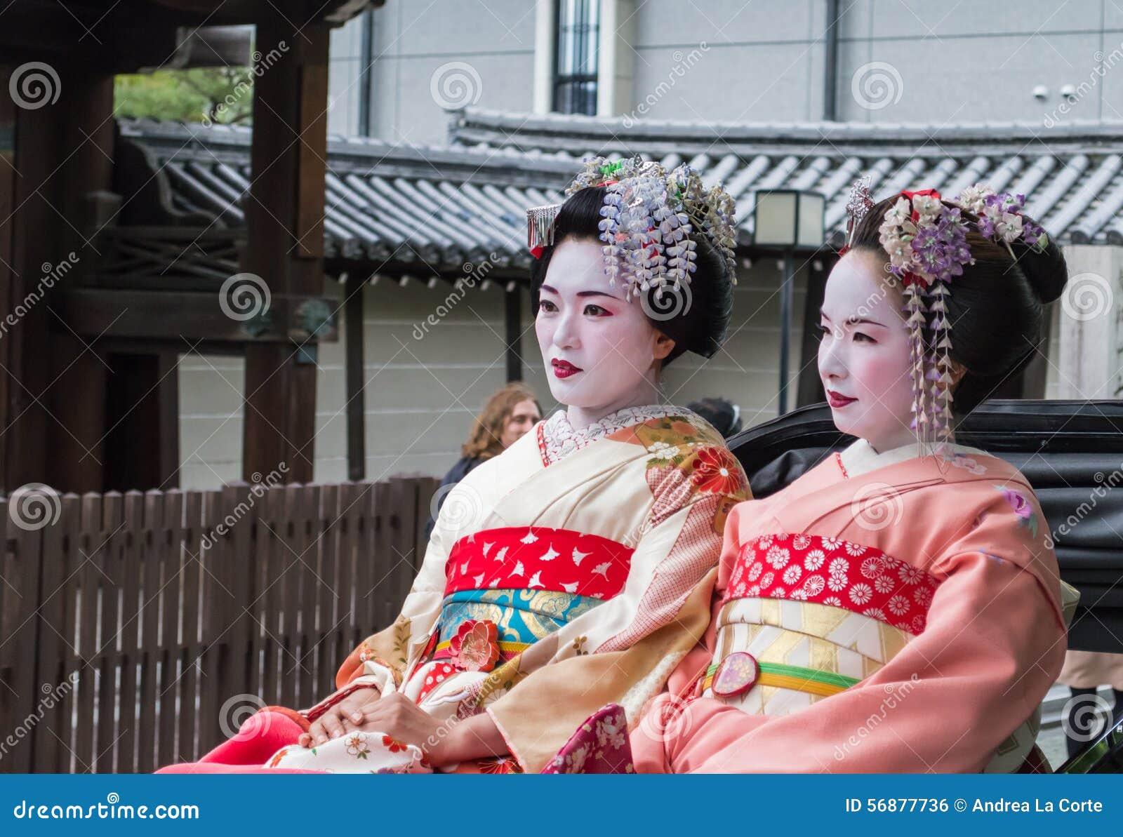 Geisha sul risciò