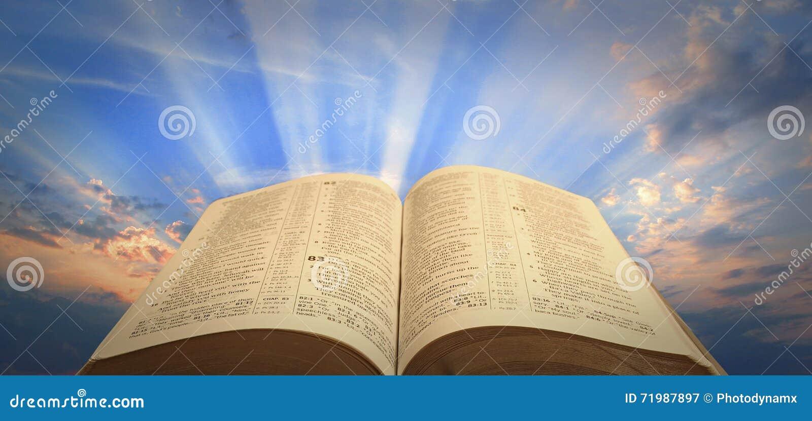 Geistige helle Bibelhoffnung