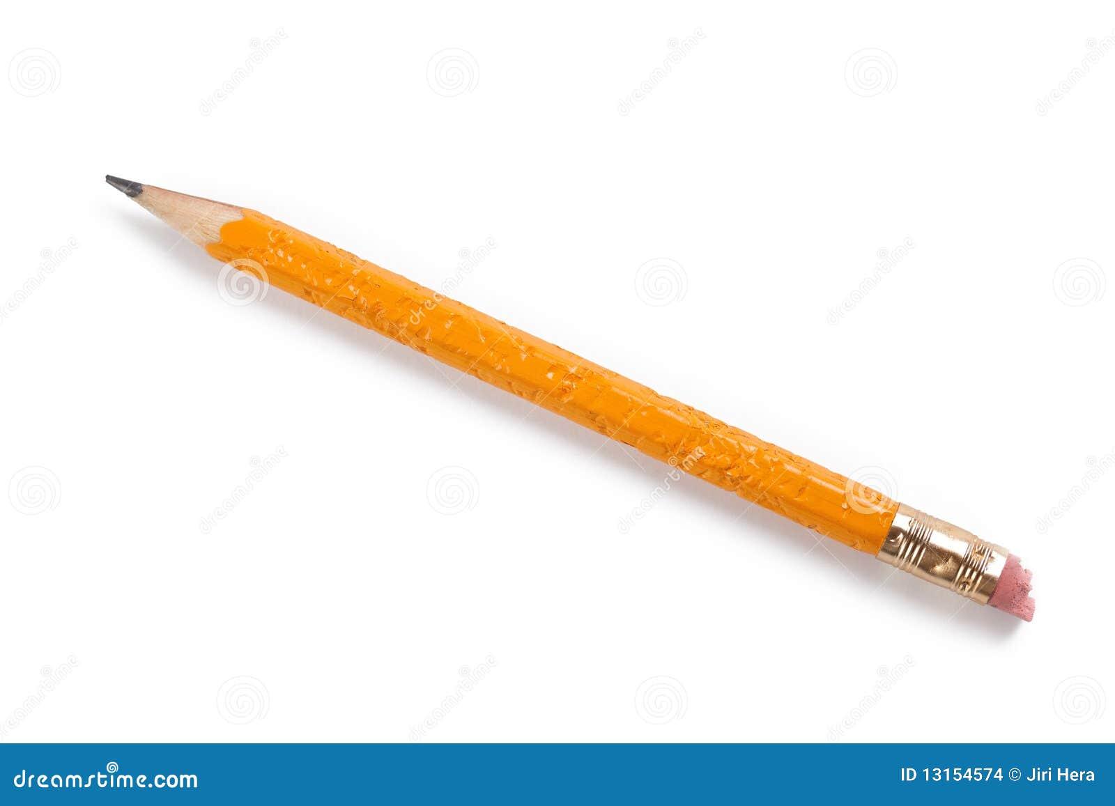 Gekauwd potlood