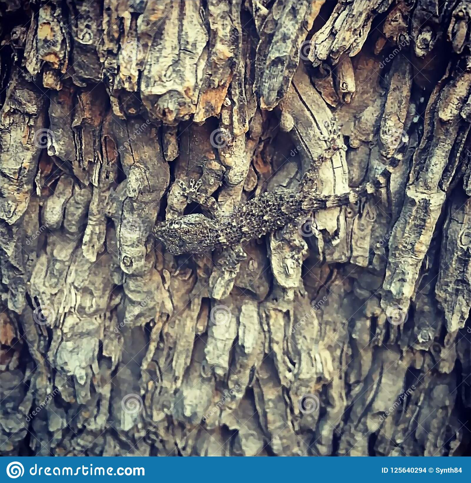 Gekko op de boom