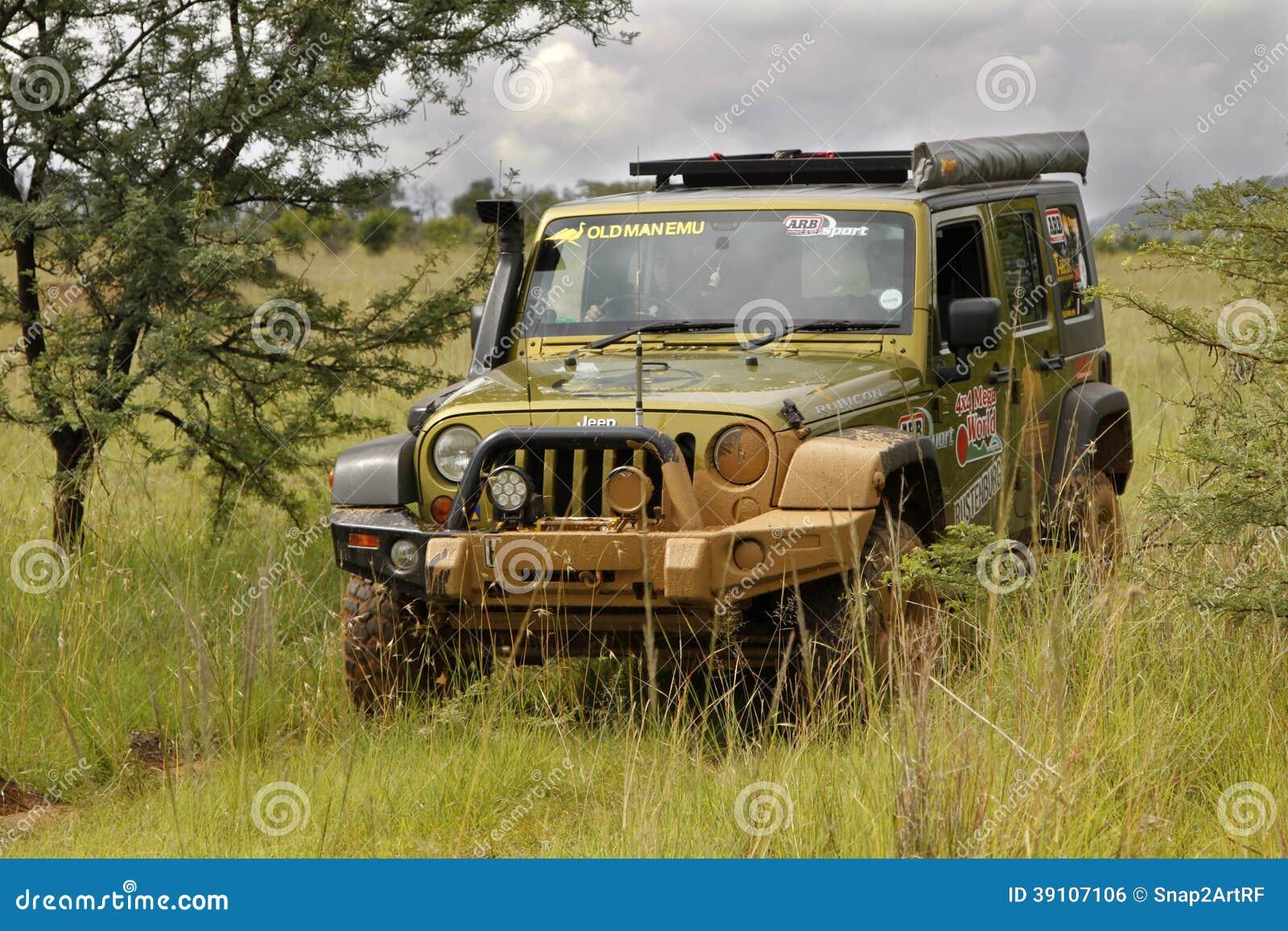 Gekkoparel Groen Jeep Wrangler Rubicon