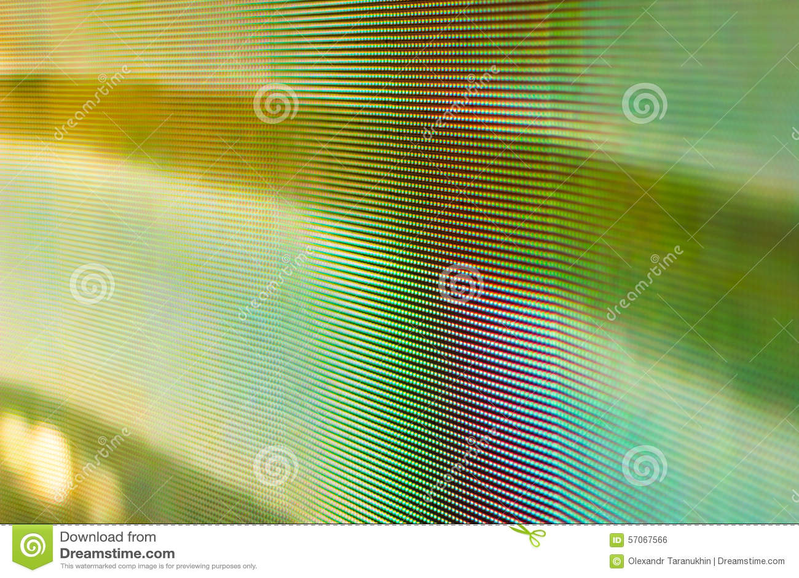 Gekleurd geel blured het Geleide smd scherm