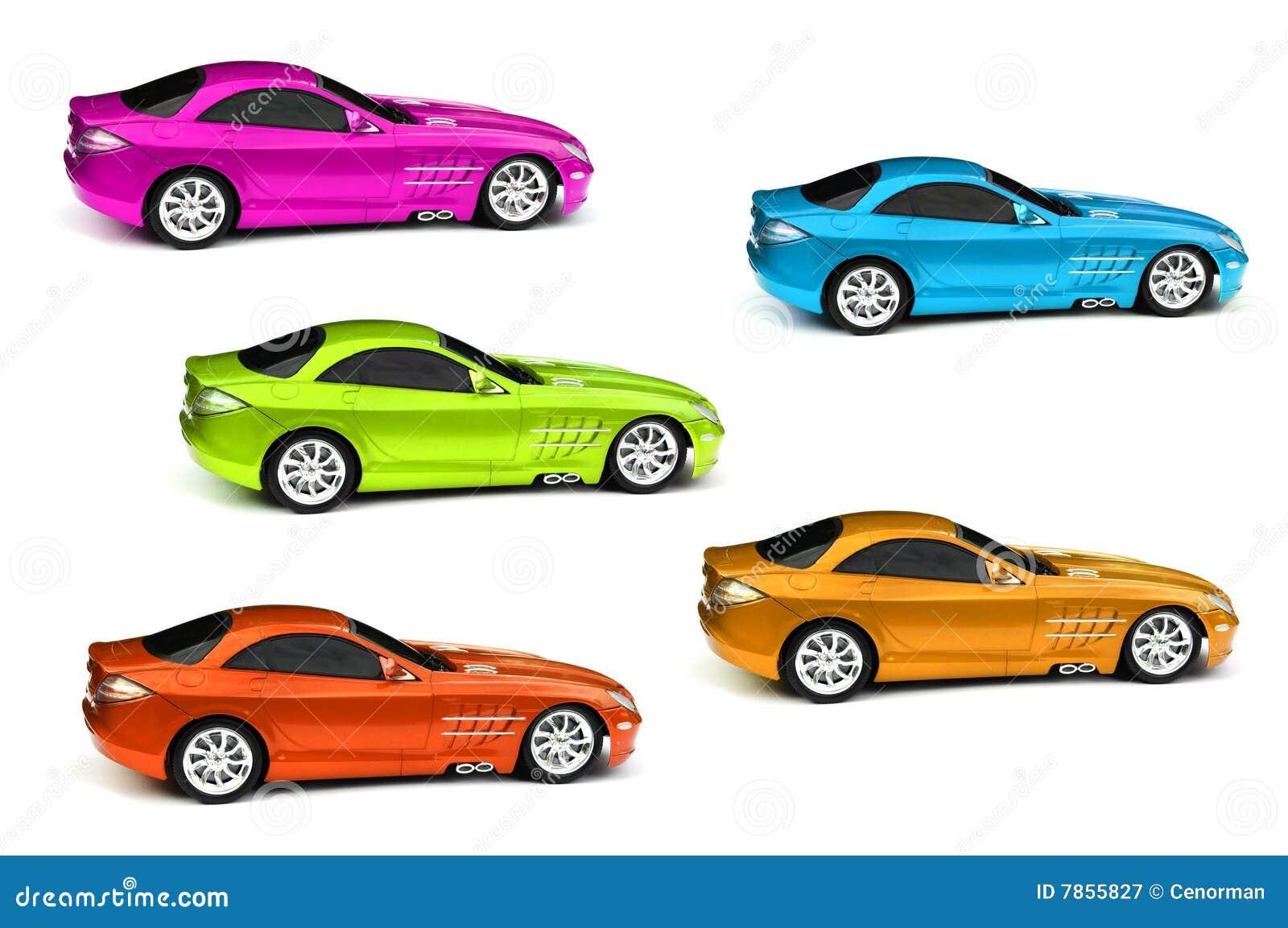 Grappige Gekleurde Auto S Vector Illustratie Illustration Of Industry 13791292