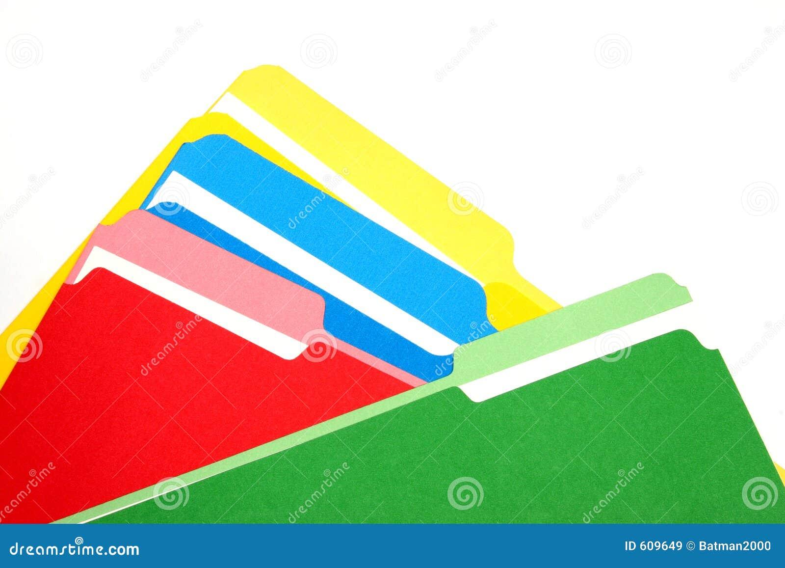 Gekleurde omslagen