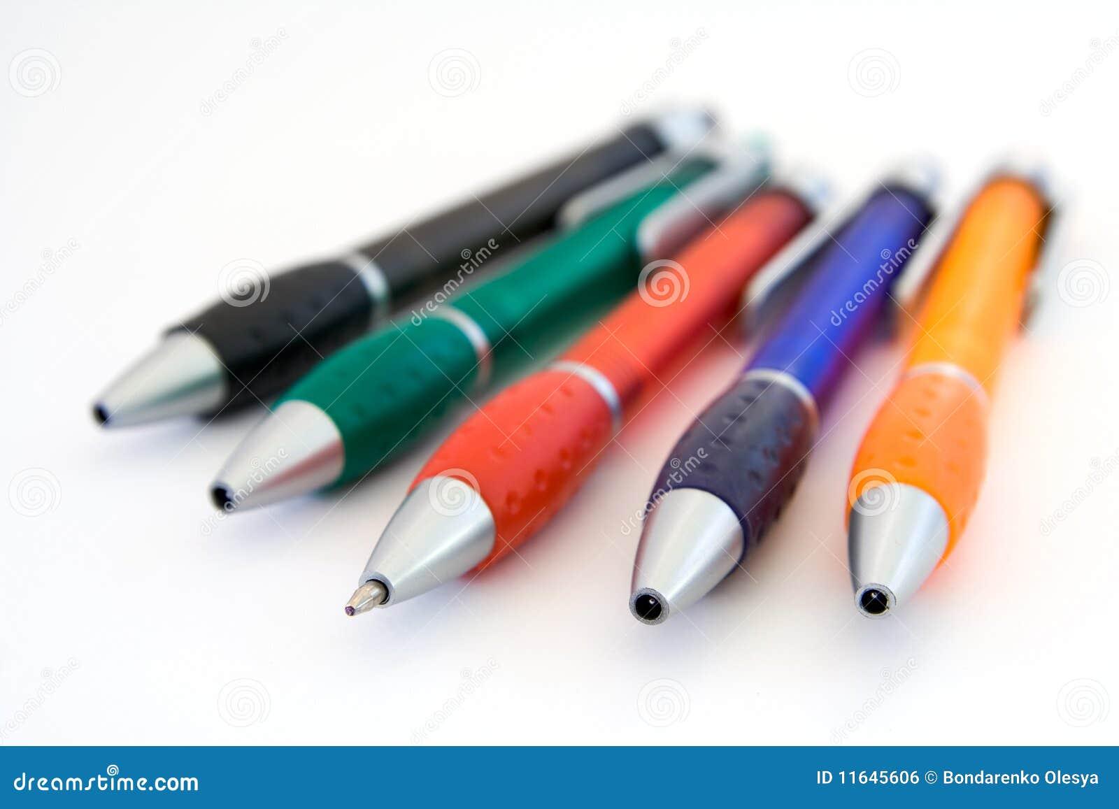 Gekleurde pennen