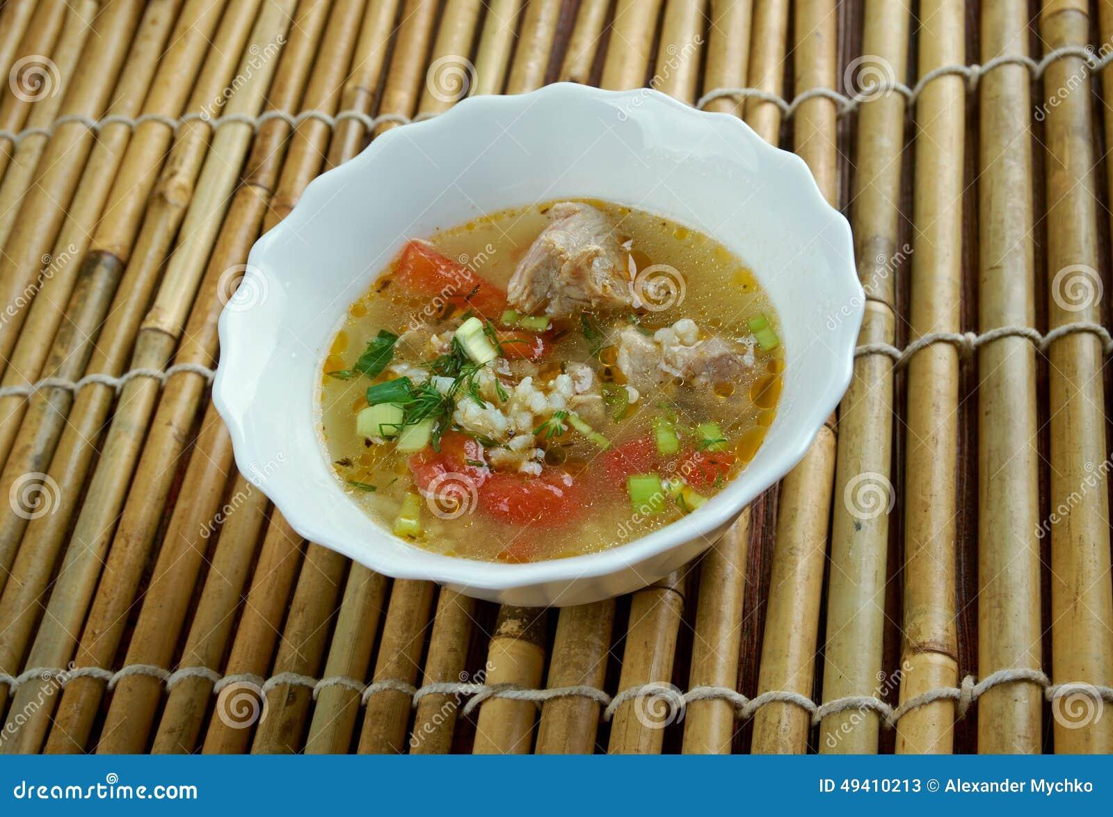 Download Gekochtes Reisschweinefleisch Oder -brei Stockbild - Bild von paprika, nahrung: 49410213