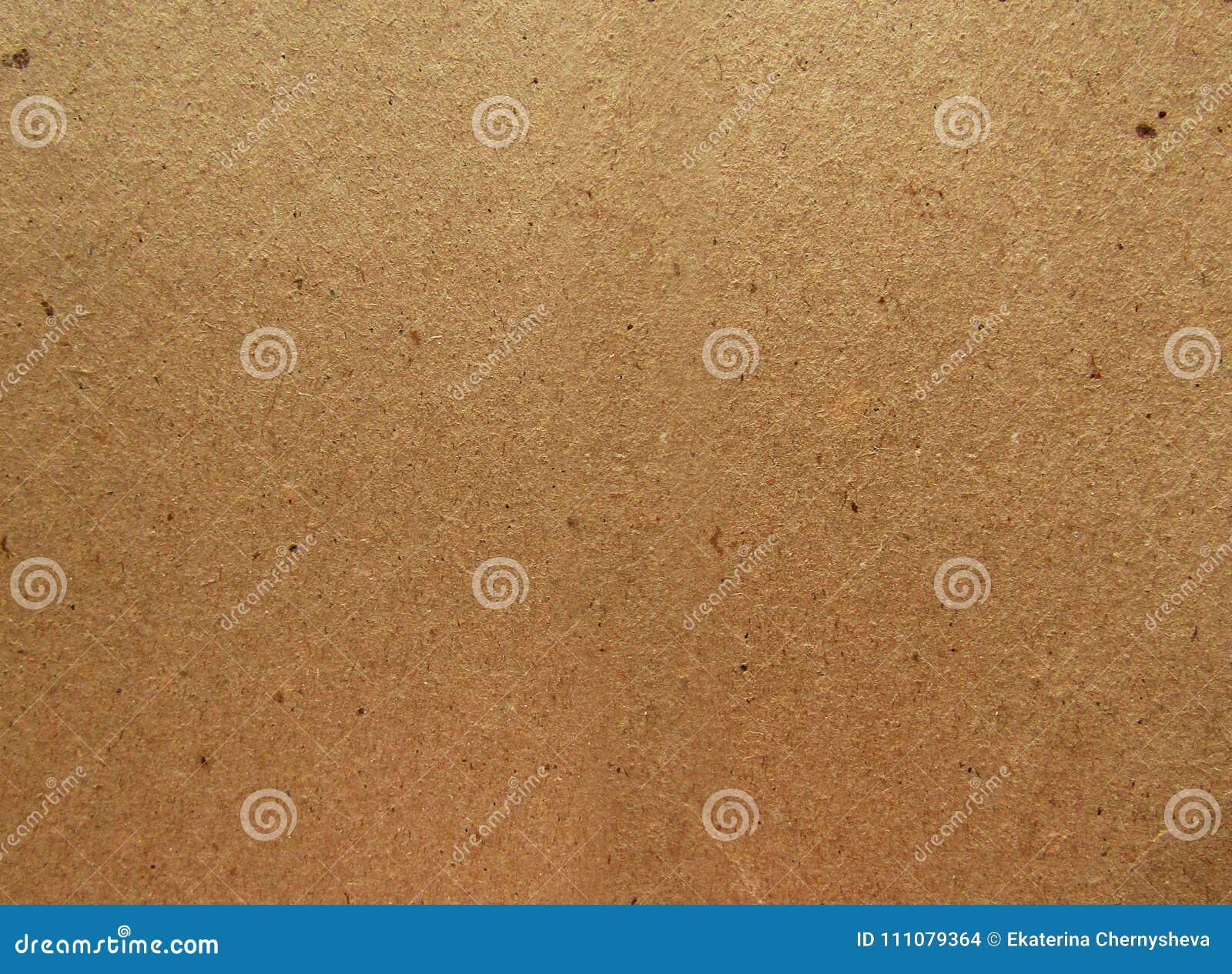 Gekrümmte (Papier) Beschaffenheit Hintergrund Browns Kraftpapier ...