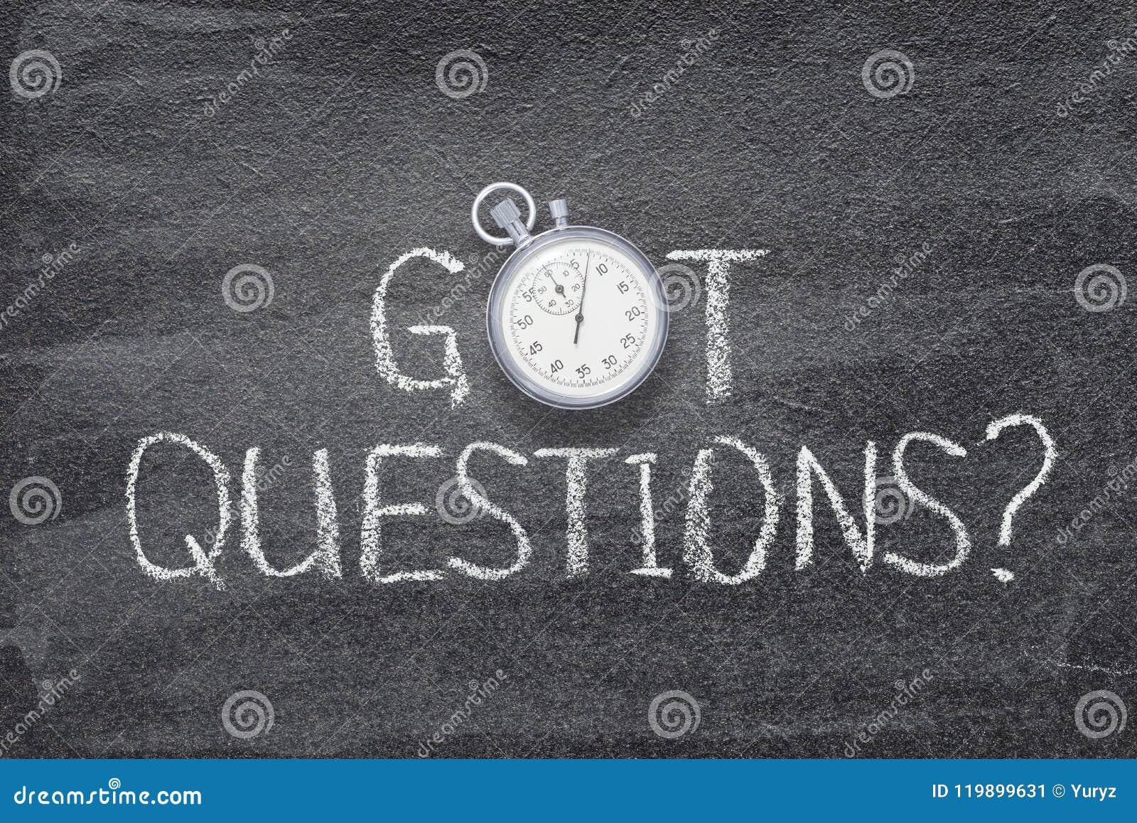 Gekregen vragenhorloge