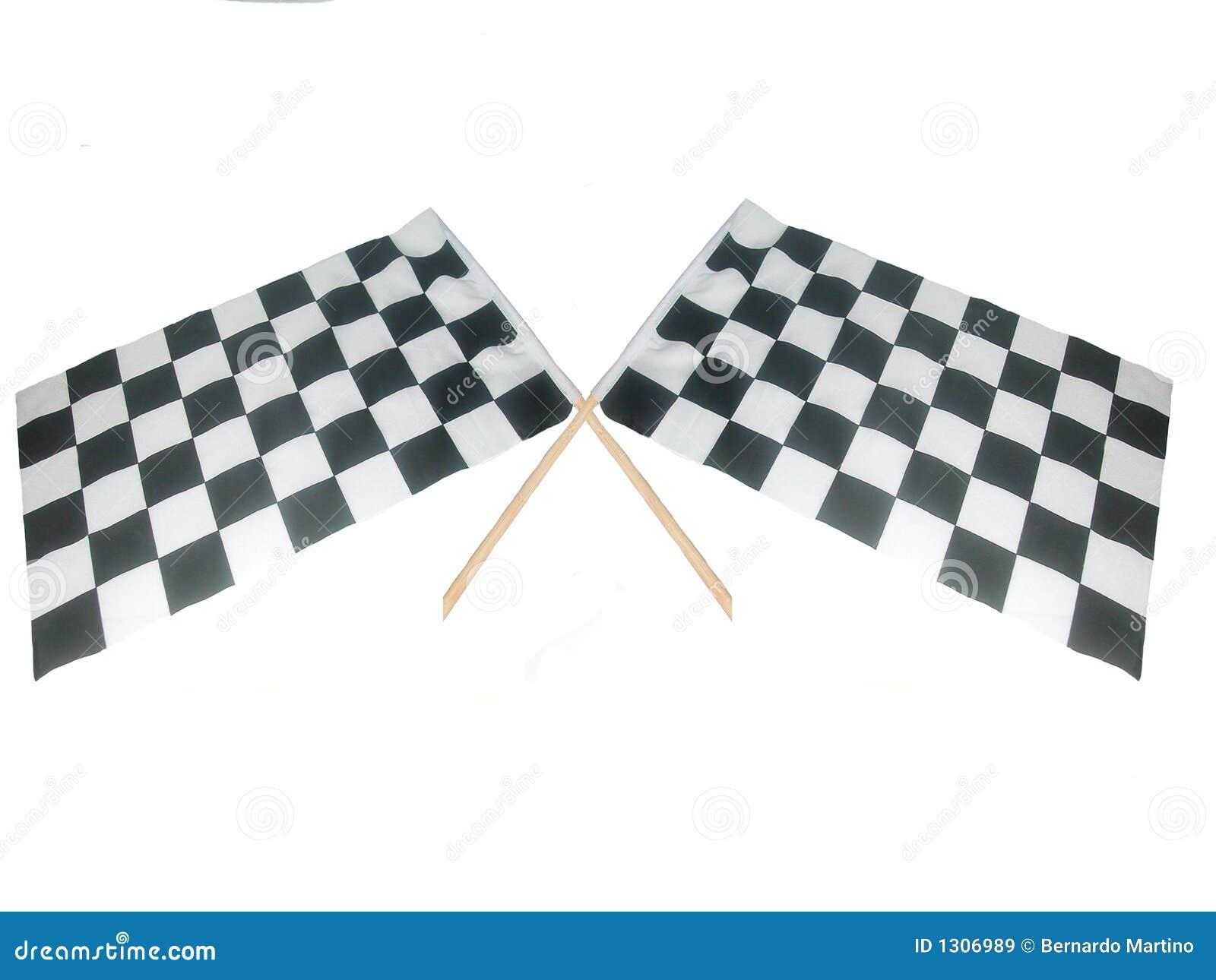 Gekruiste Vlaggen Raceing