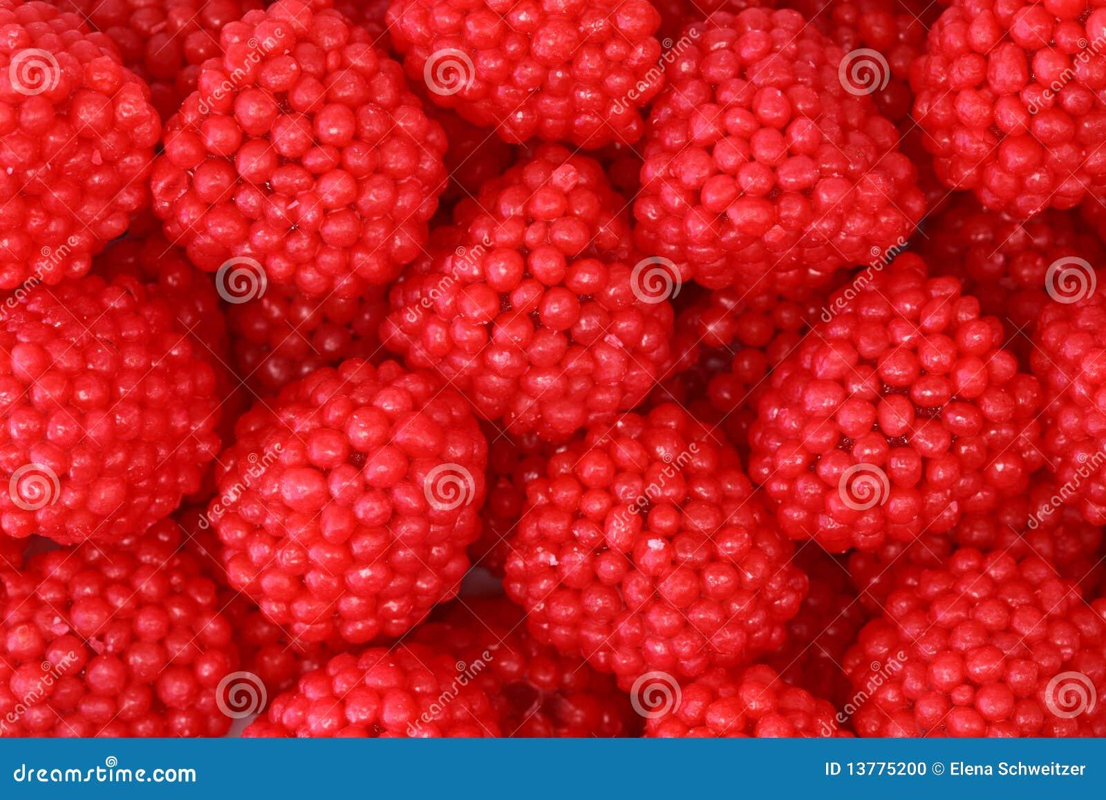 Gelée de fruit de framboises