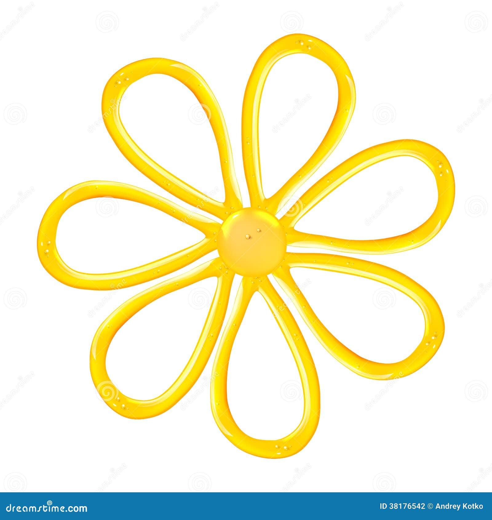 Gel Flower Icon Stock Vector Illustration Of Glossy 38176542