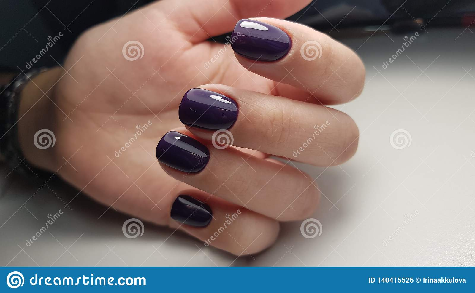 Gel polish nice color stock photo. Image of design, nice - 140415526