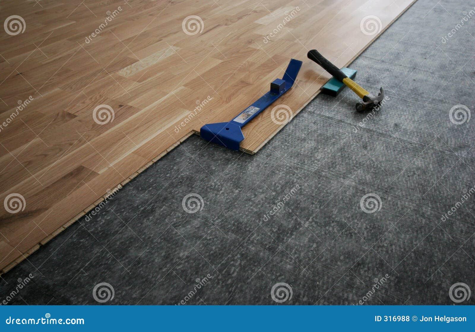 Gelamineerde houten vloer