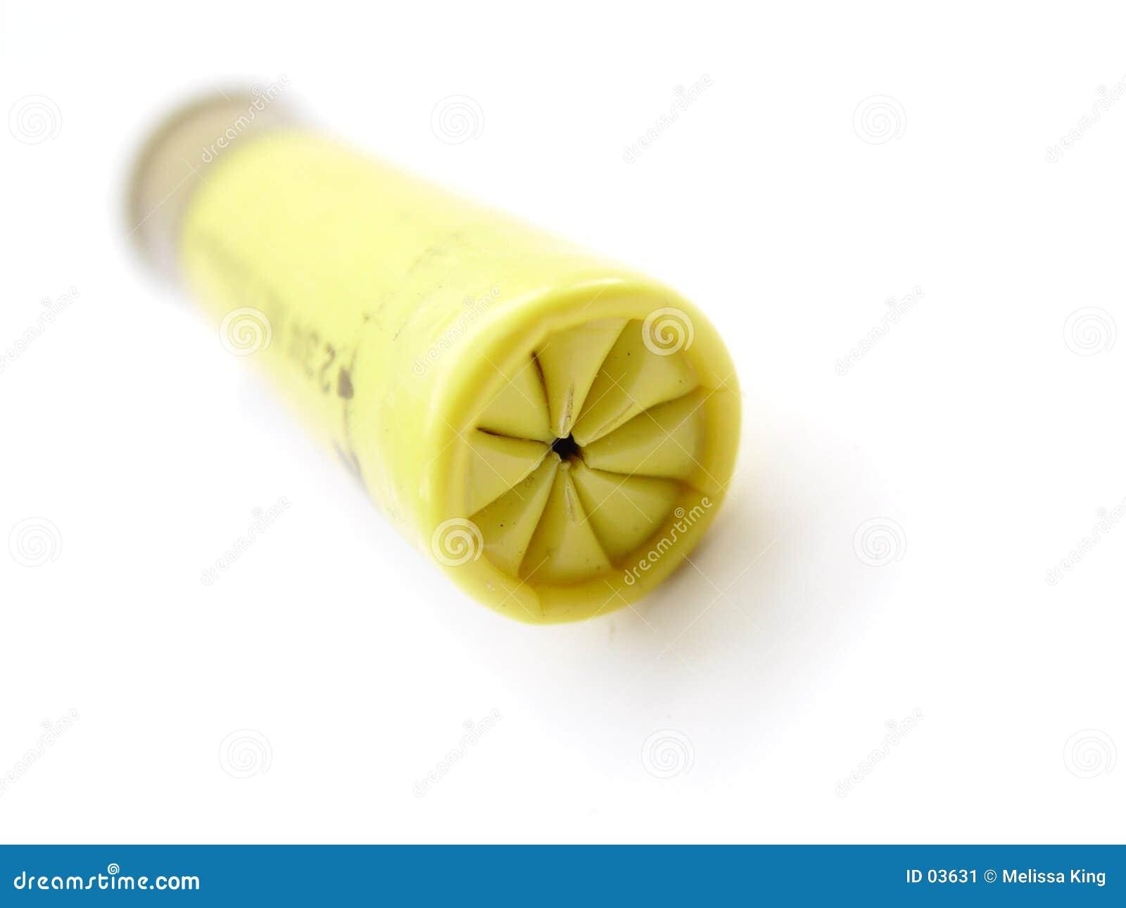 Gelbe Gewehrkugel