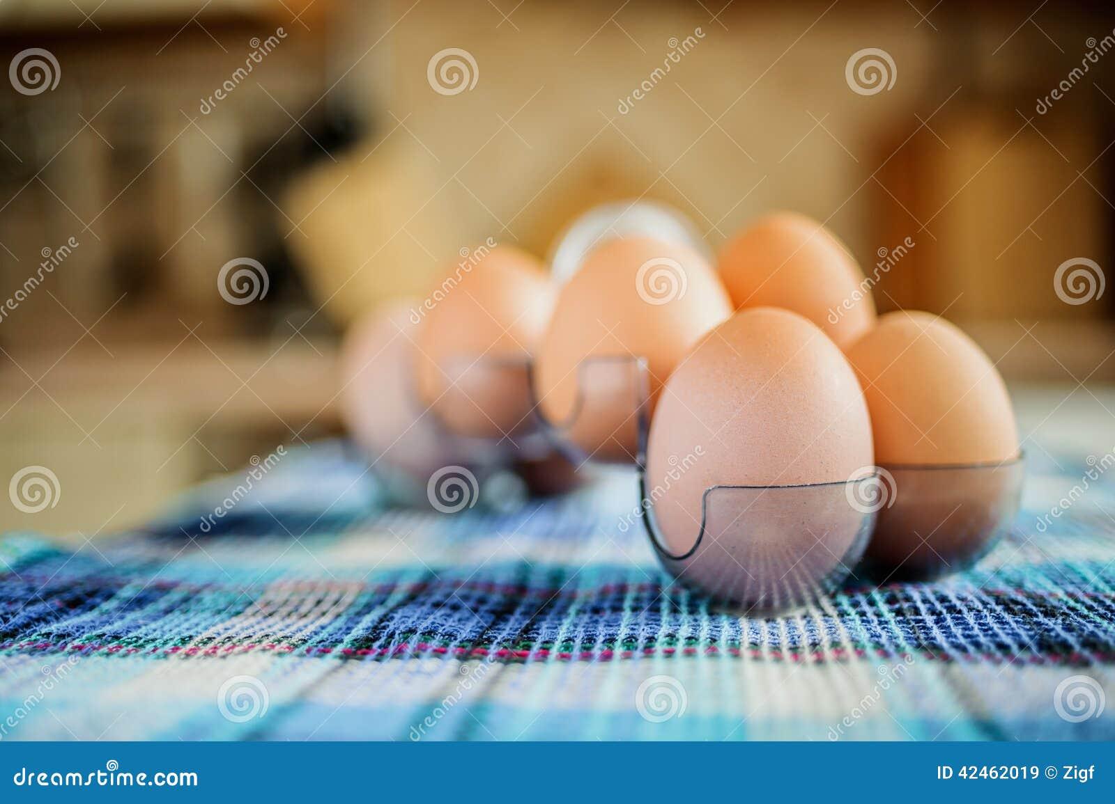 Gelbe Hühnereien