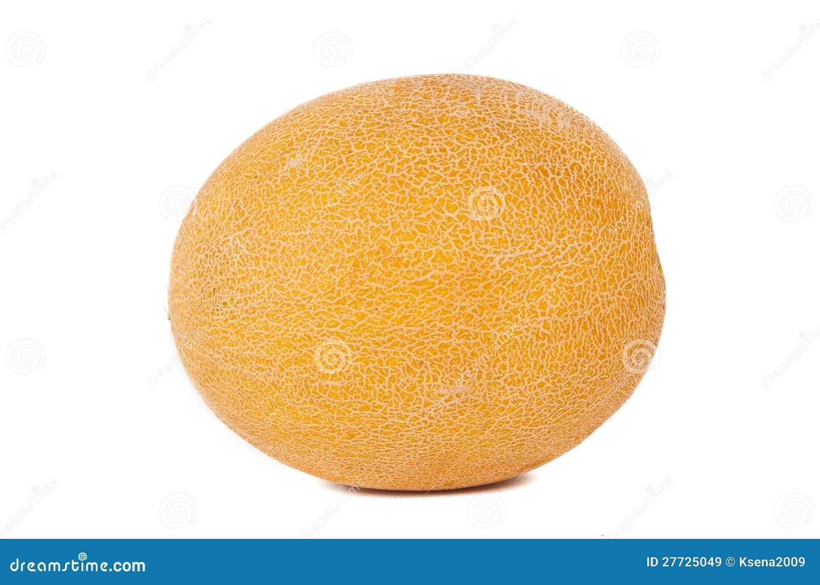 Gelbe Melone getrennt