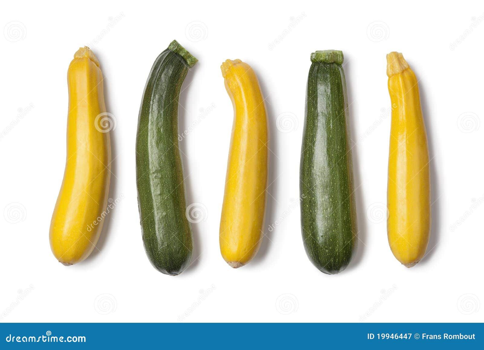 gelbe und gr ne zucchini stock photos royalty free pictures. Black Bedroom Furniture Sets. Home Design Ideas