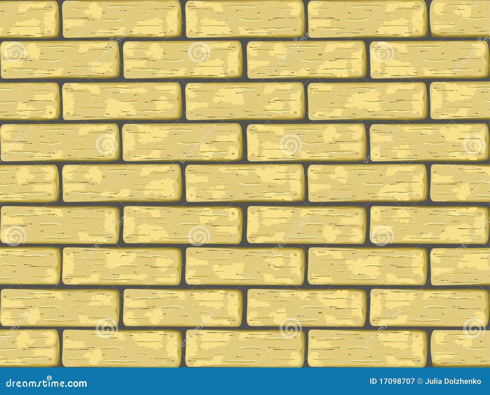 Gelbe Ziegelsteine
