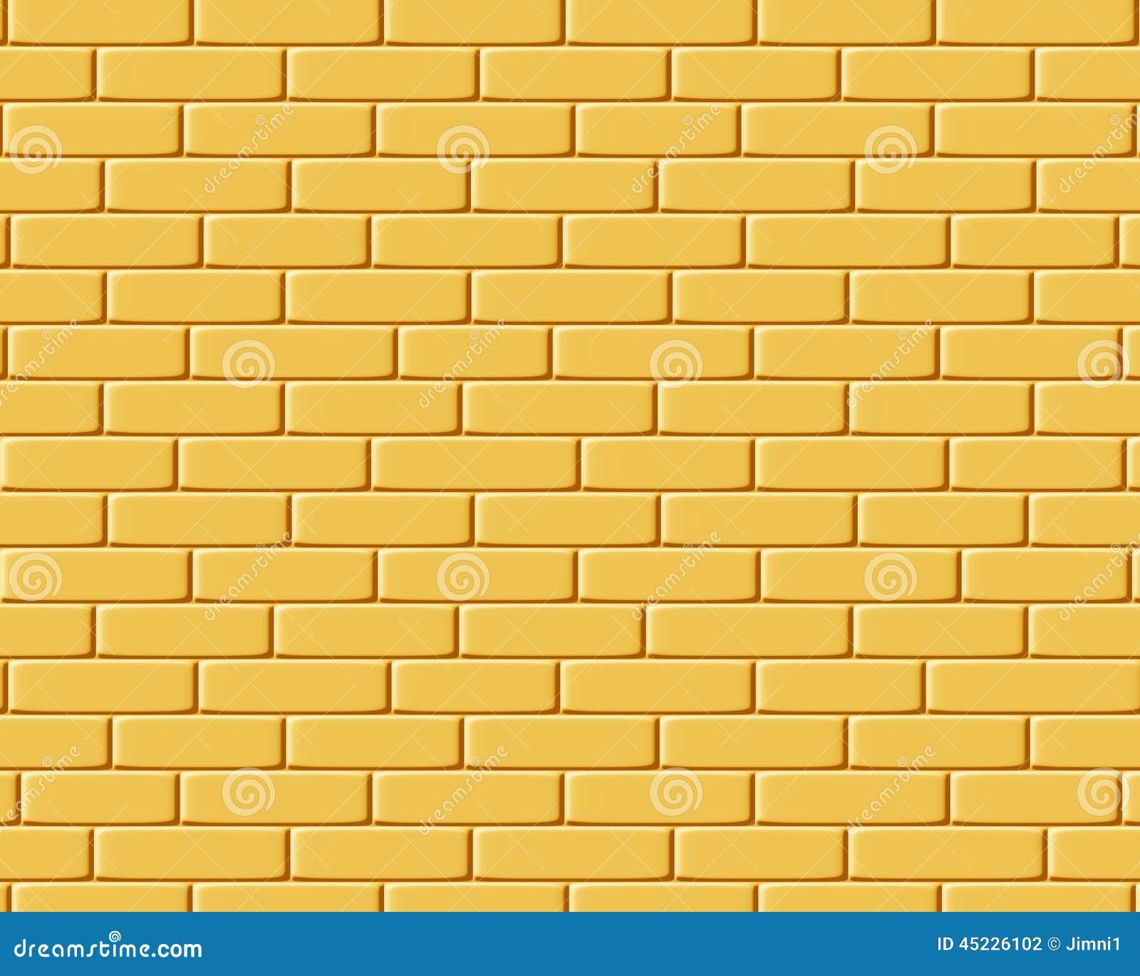 gelbe ziegelsteine hintergrundbeschaffenheit stock abbildung illustration von muster. Black Bedroom Furniture Sets. Home Design Ideas