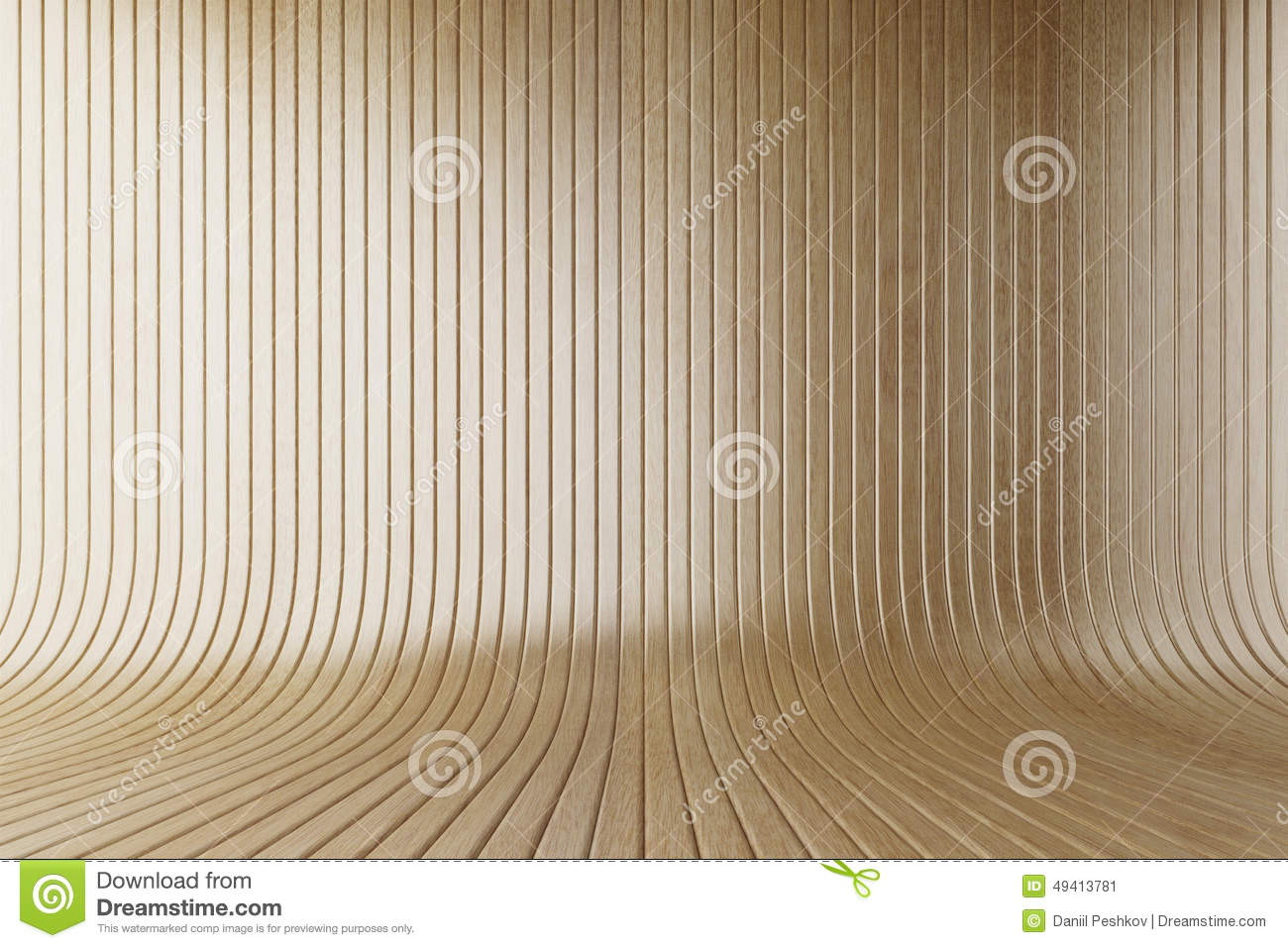 Download Gelbes Bauholz stock abbildung. Illustration von floorboard - 49413781