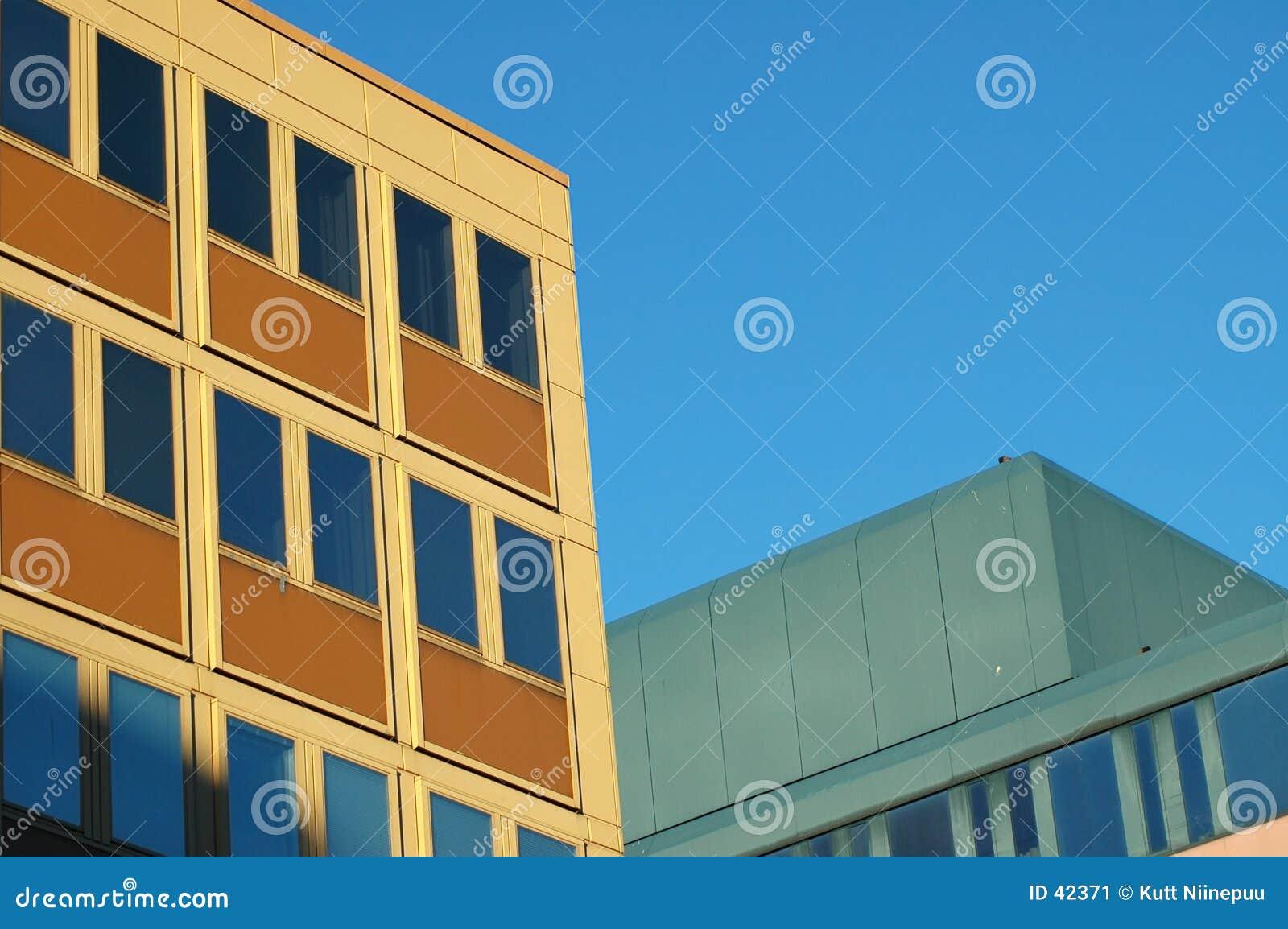 Gelbes Gebäude