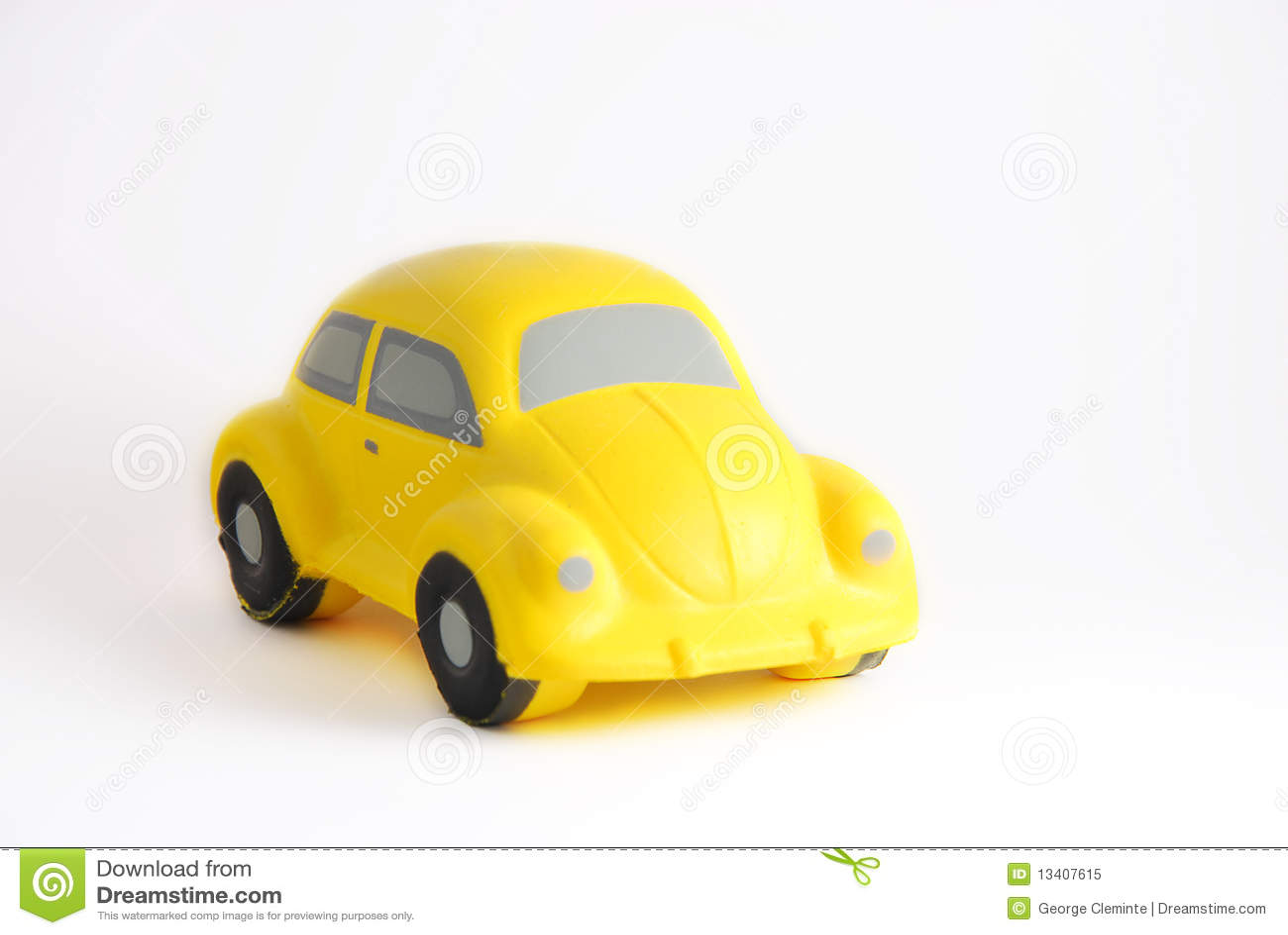Gelbes Auto Spiel