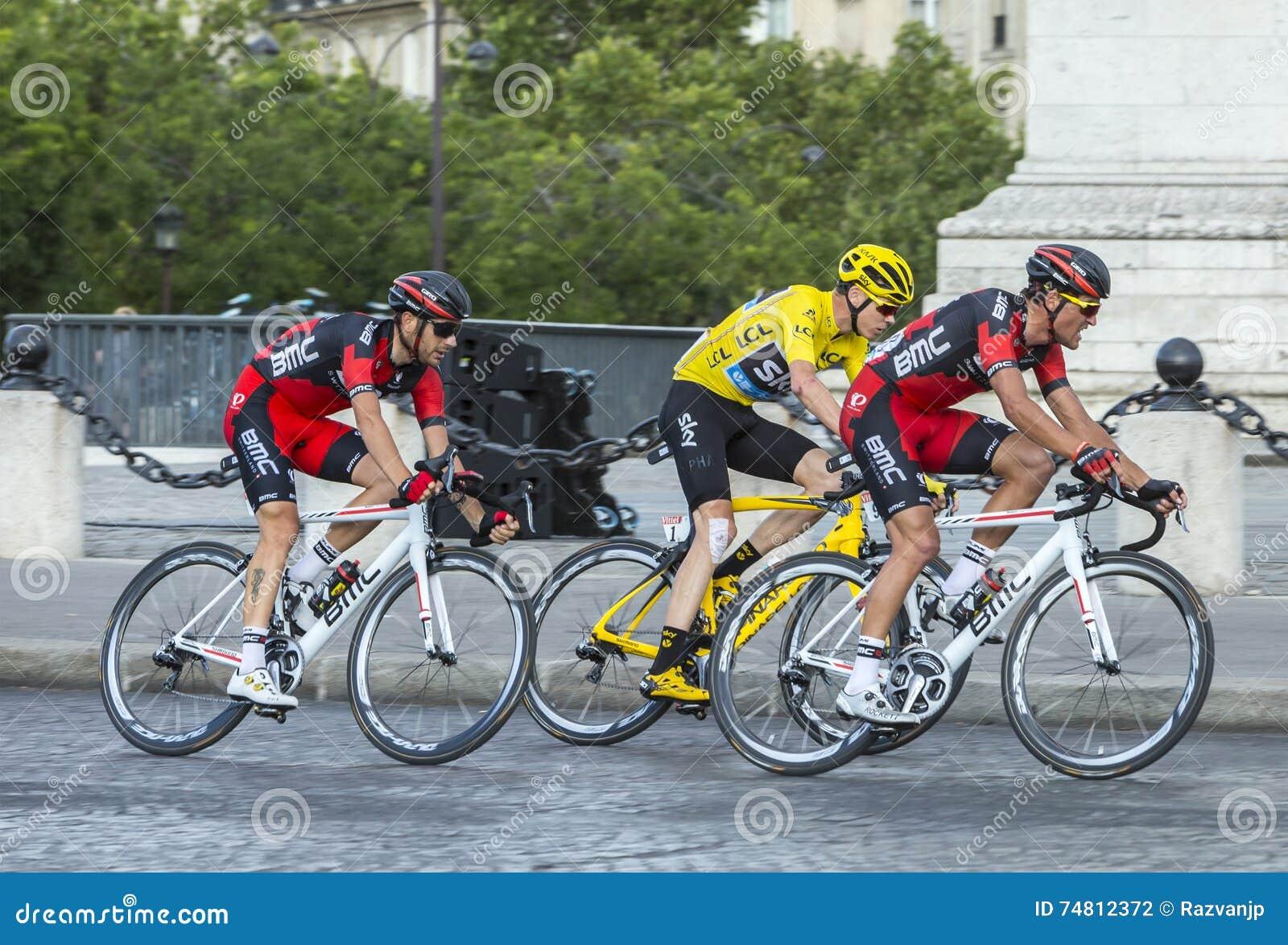 Gelbes Trikot in Paris - Tour de France 2016