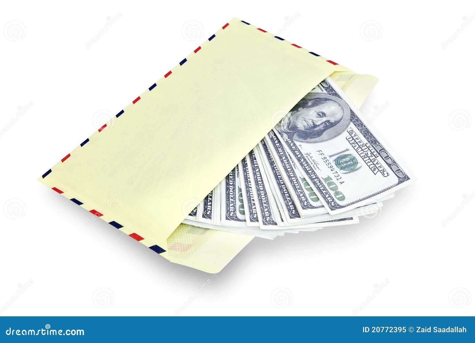 Geld in envelop