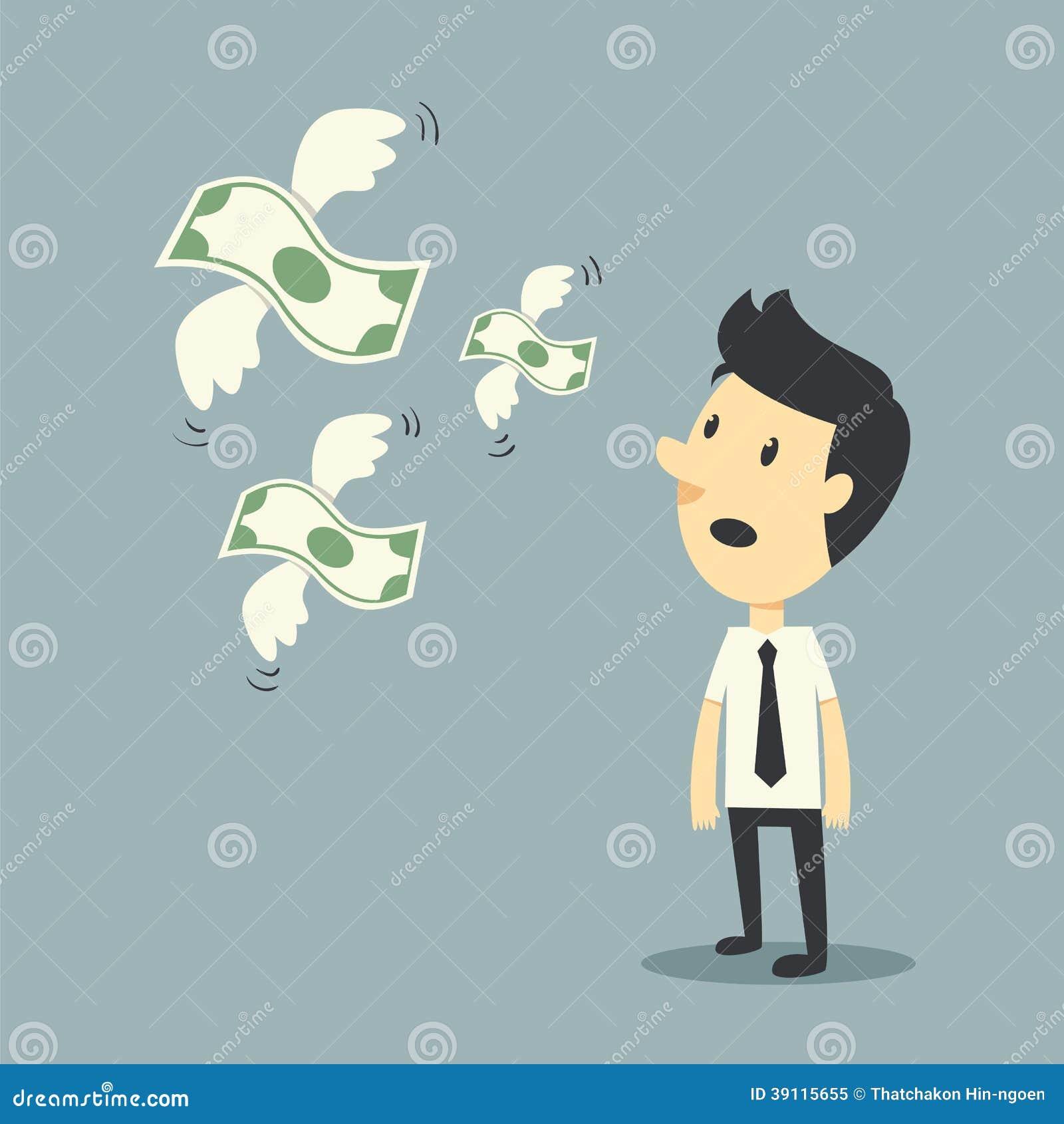 Geld het vliegen