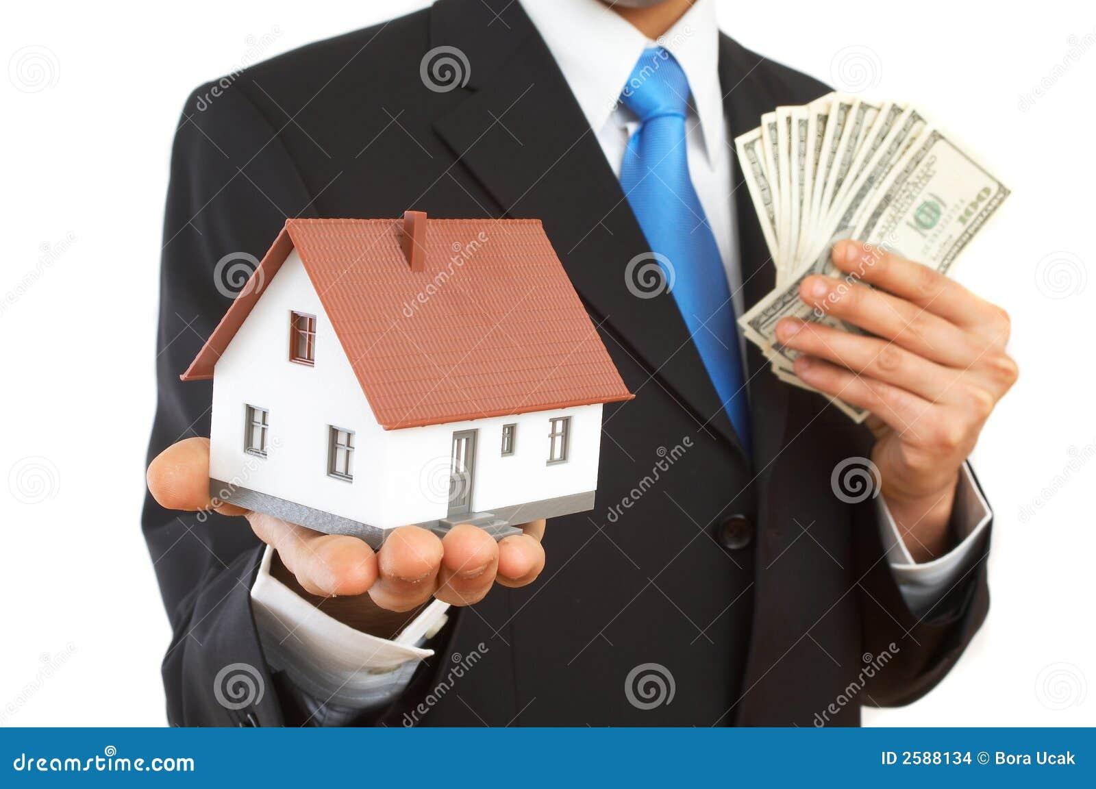 Geld of huis