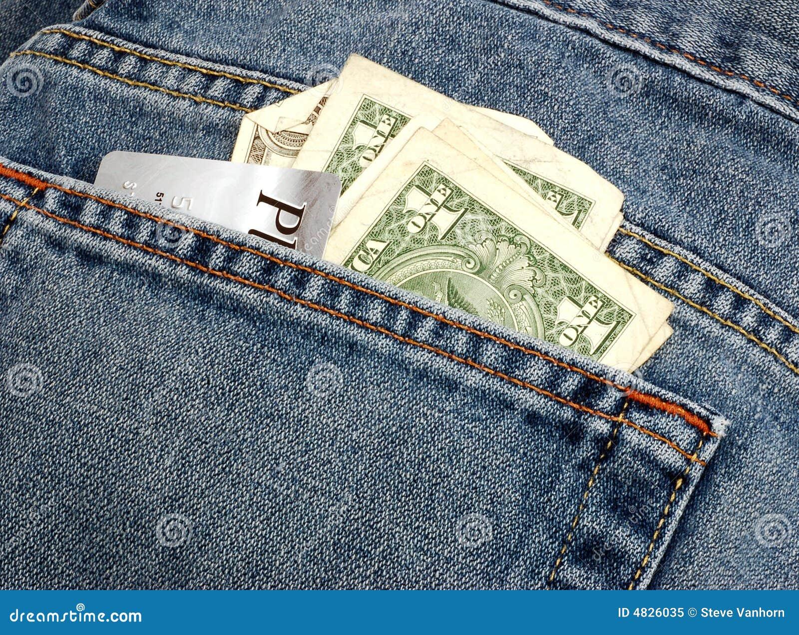 Geld in Ihrer Tasche
