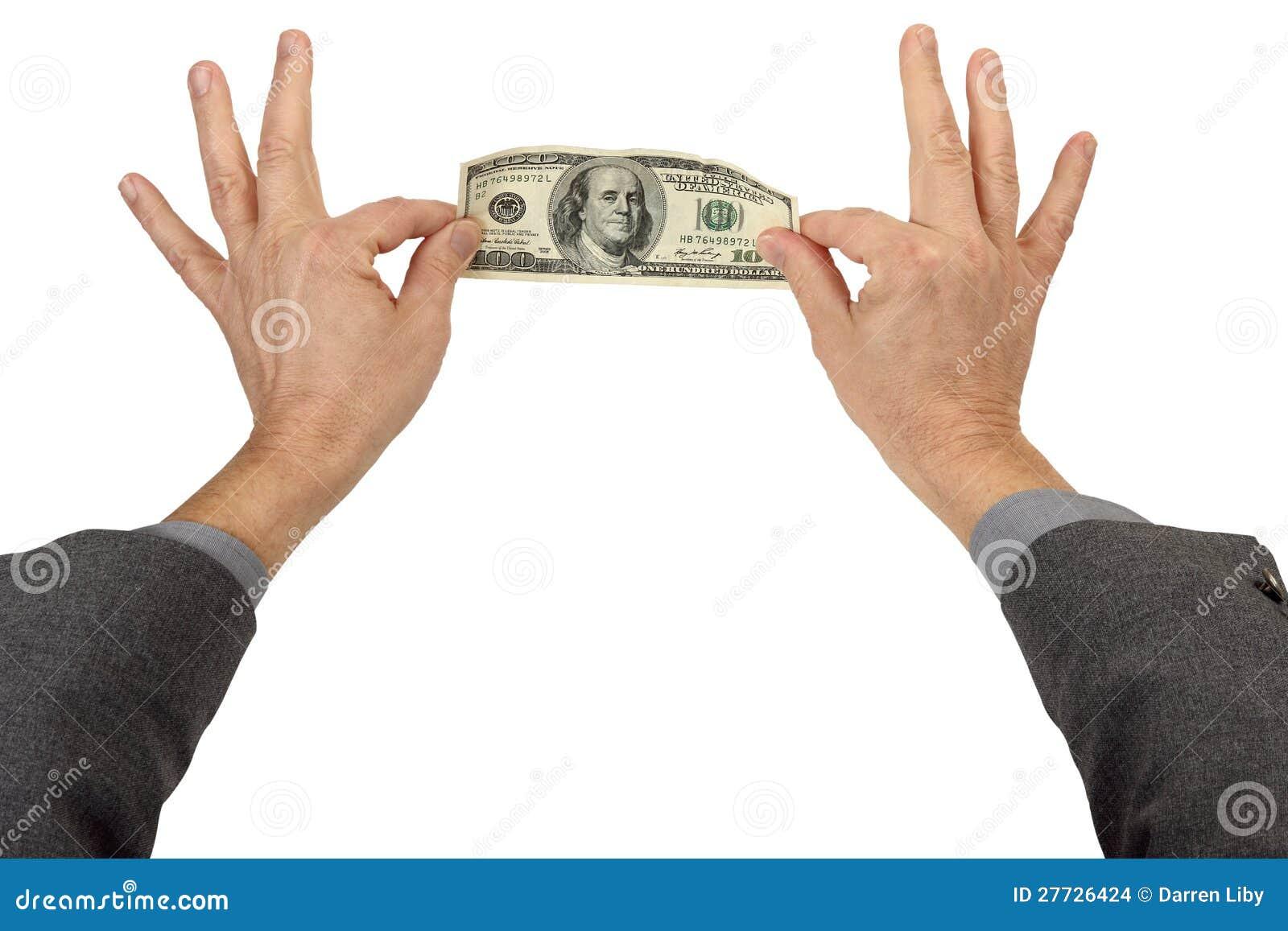 Geld-Klemme