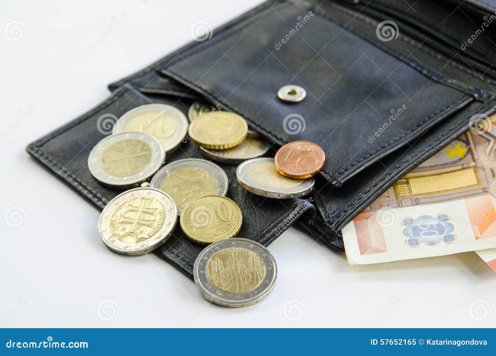 Geld in Portefeuille