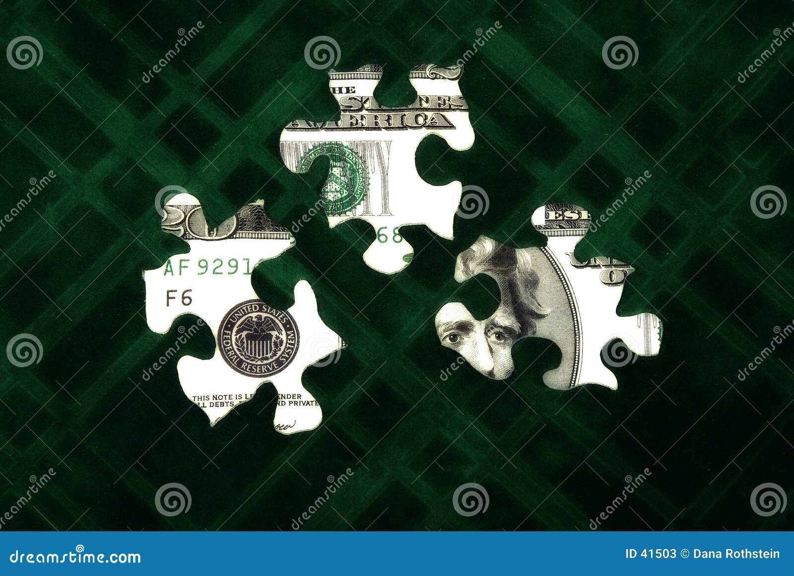 Geld-Puzzlespiel 3