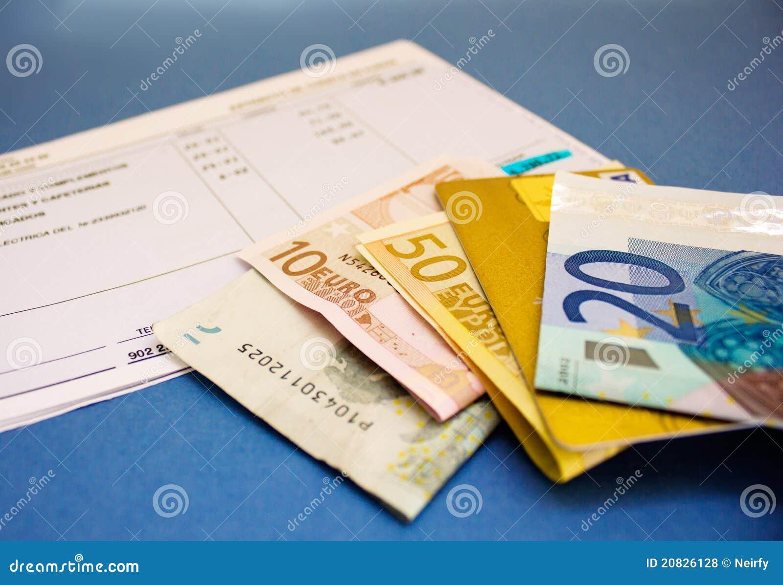 Geld und Konto