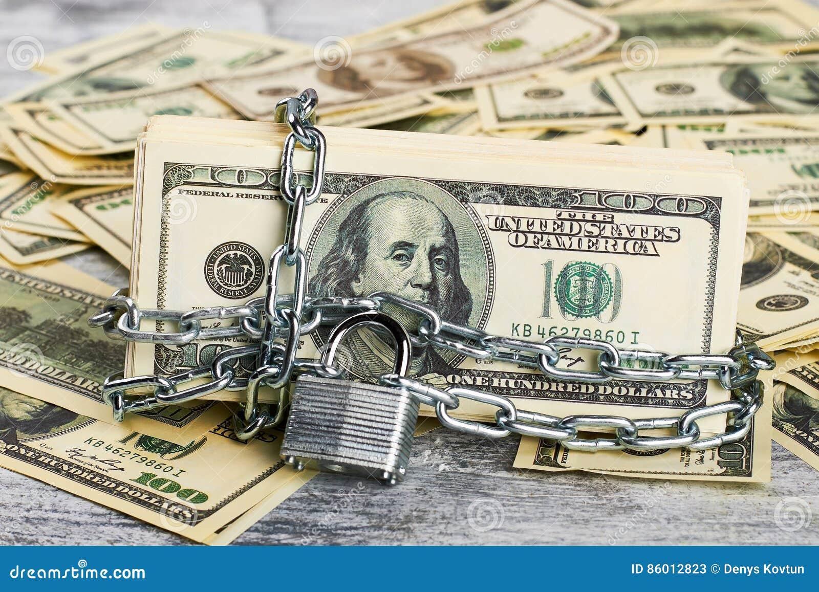 Geld unter Verschluss