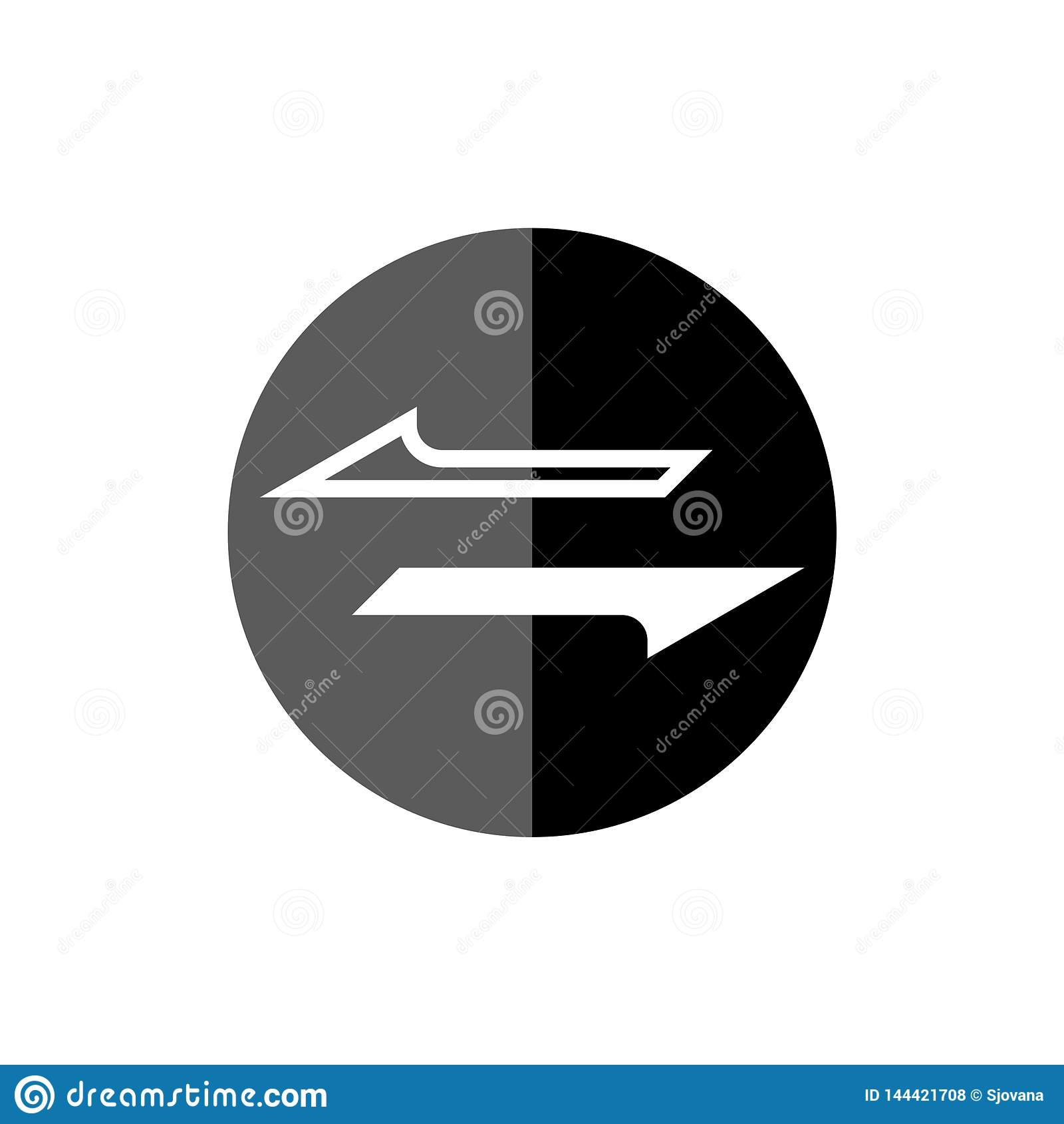 Geldbekehrtikone oder -zeichen