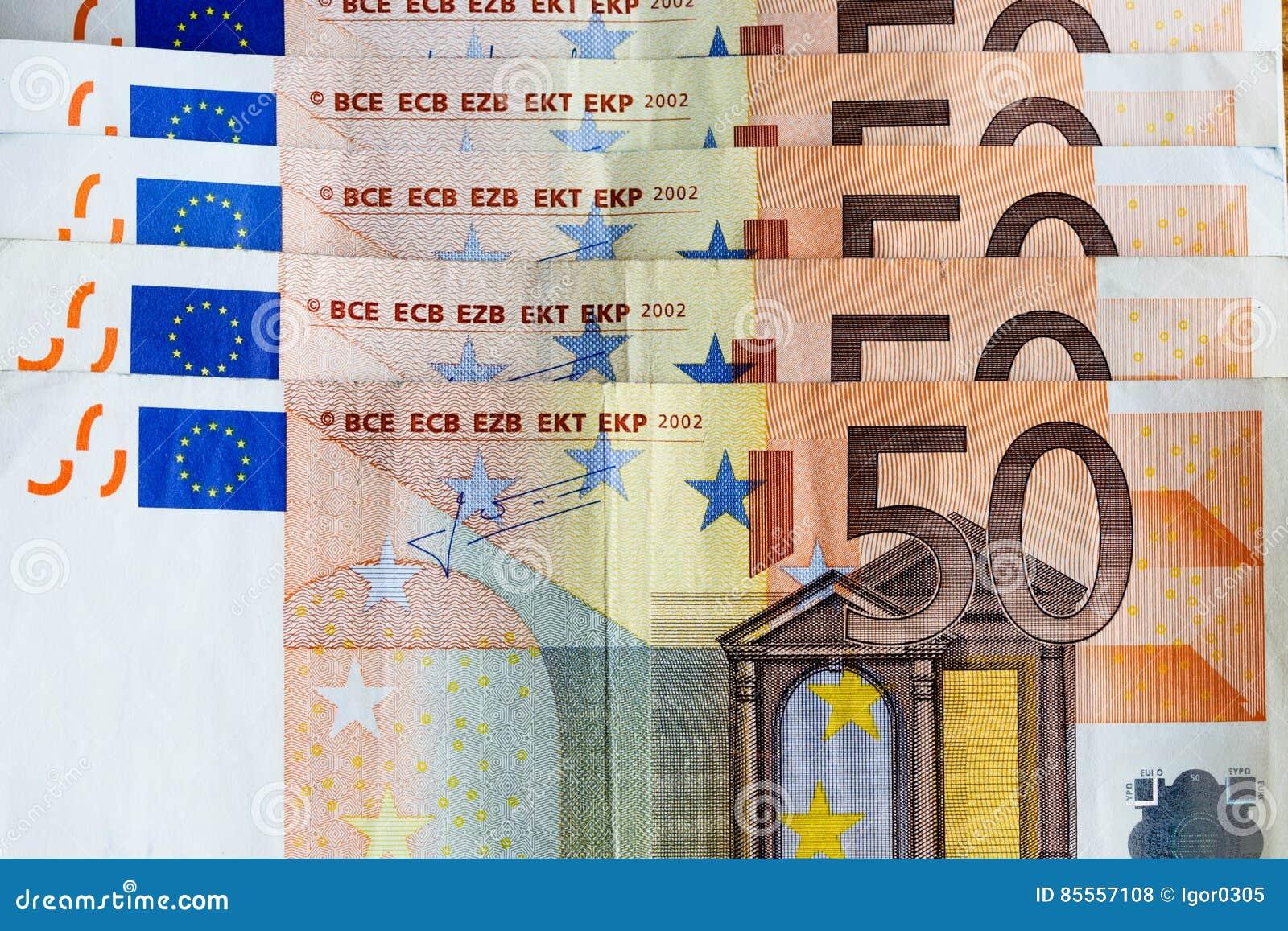Geldeurobanknoten