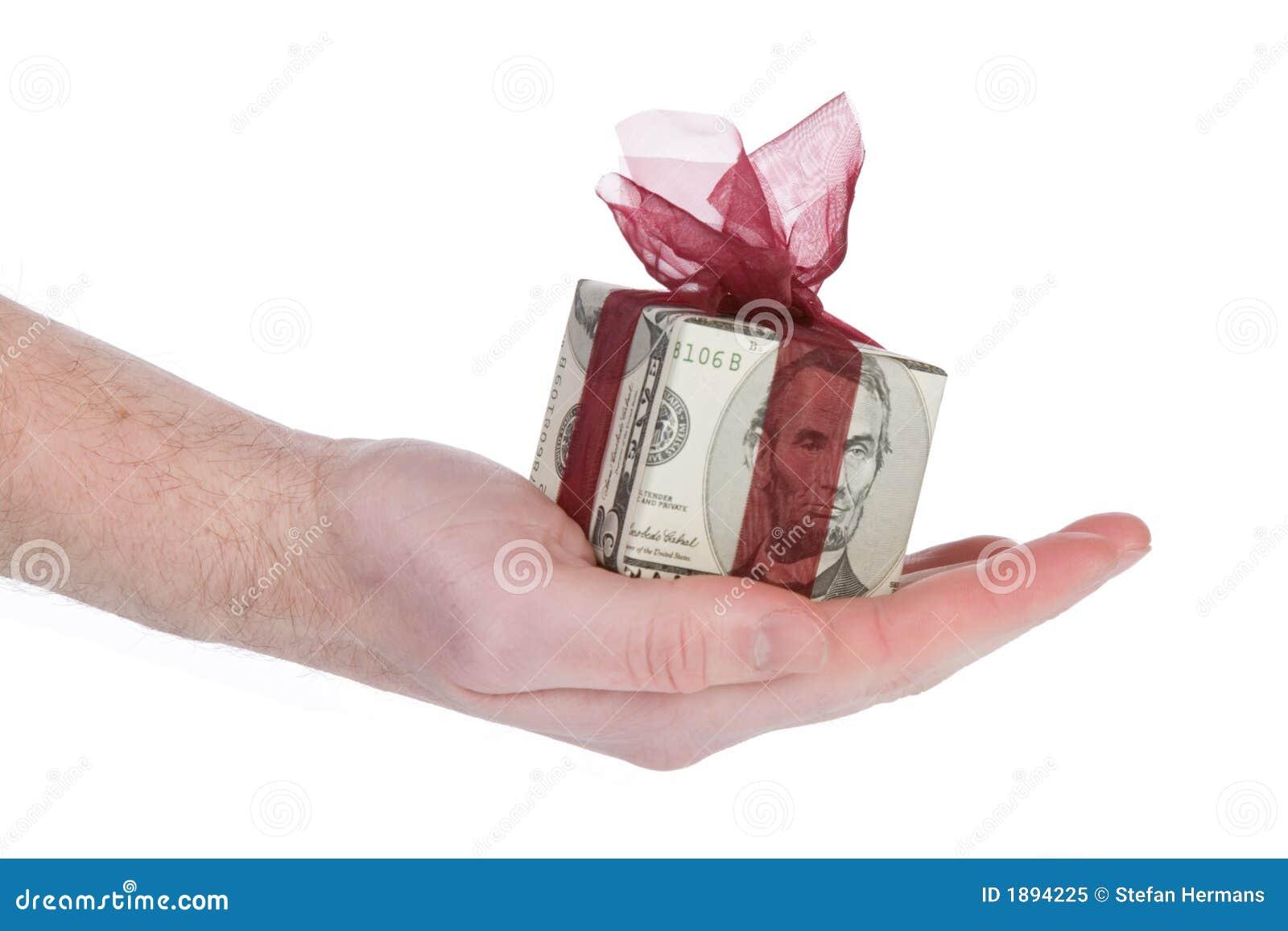 Geldgeschenkkasten von 5 Dollar