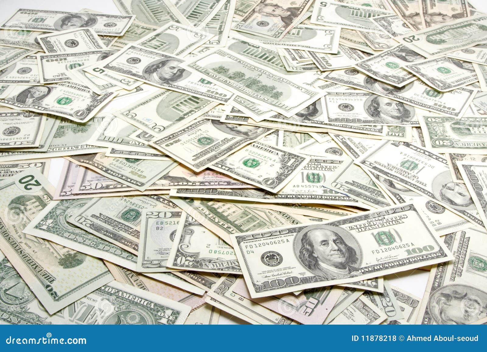 Geldhintergrund