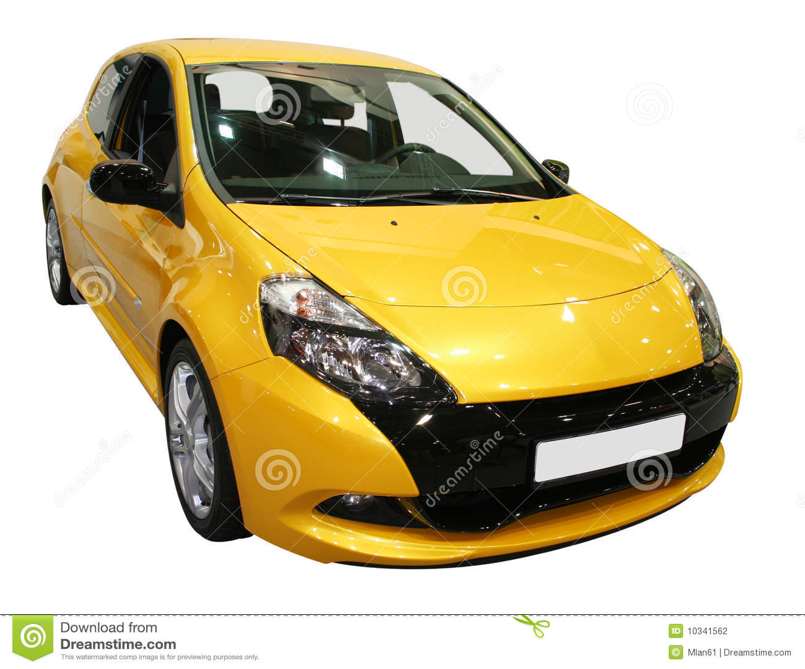 Gele auto stock fotografie afbeelding 10341562 for Gele lampen auto