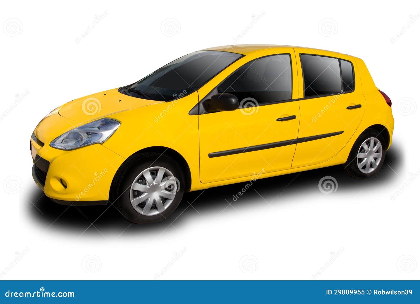 Gele auto stock afbeelding afbeelding bestaande uit geel for Gele lampen auto