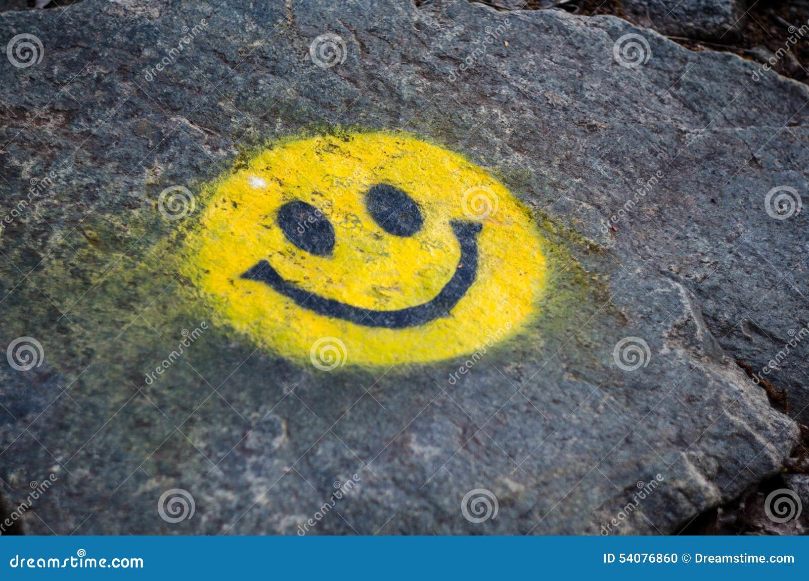 Gele glimlach