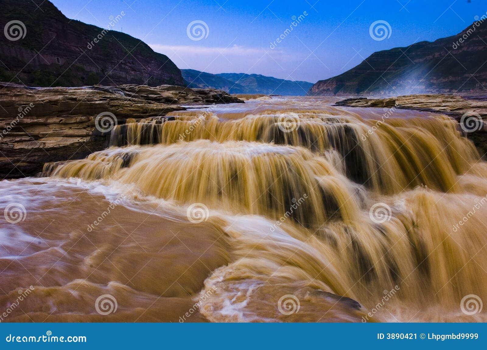 De gele rivier is china s tweede grootste rivier die ook als de rivier