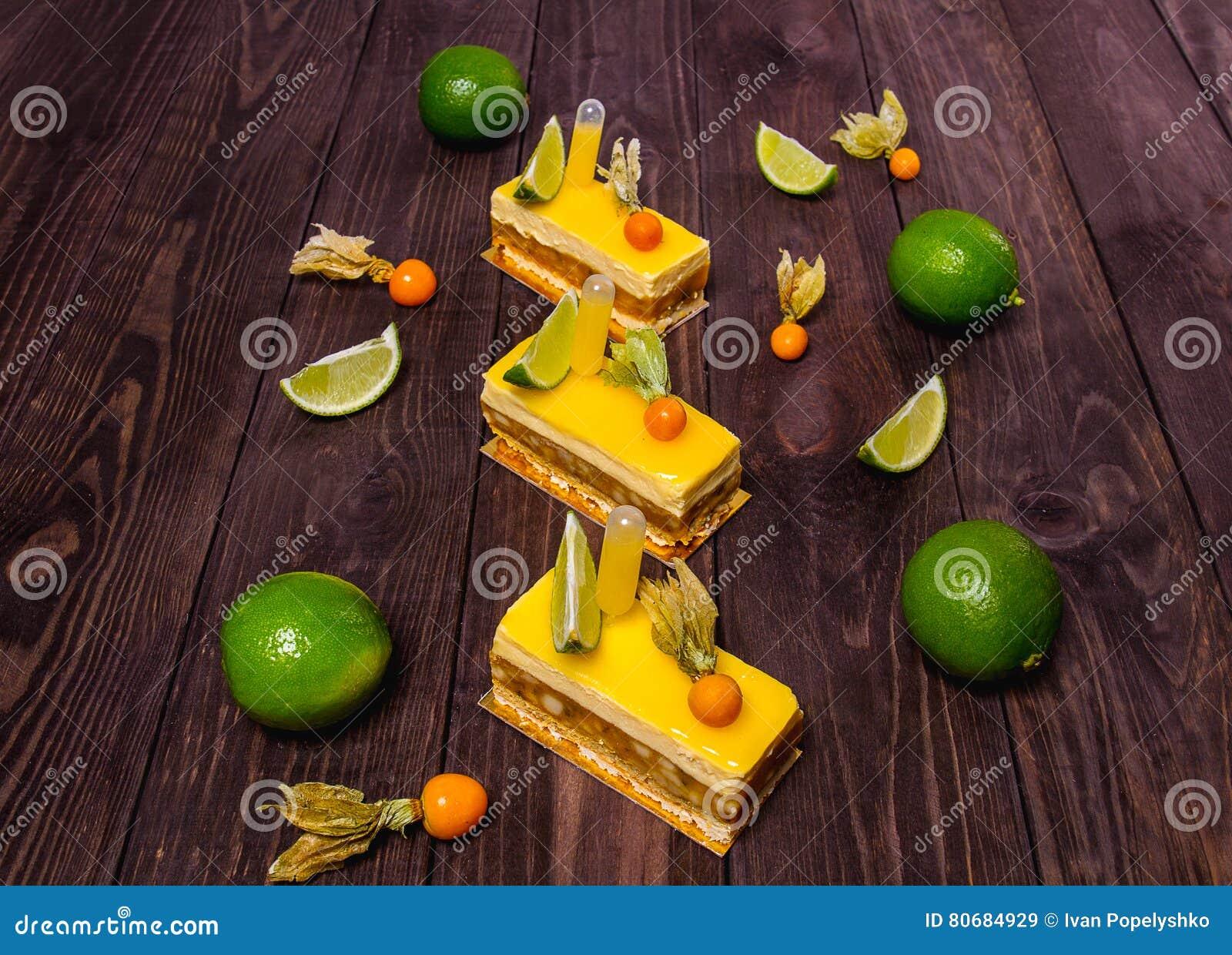 Gele snoepjes