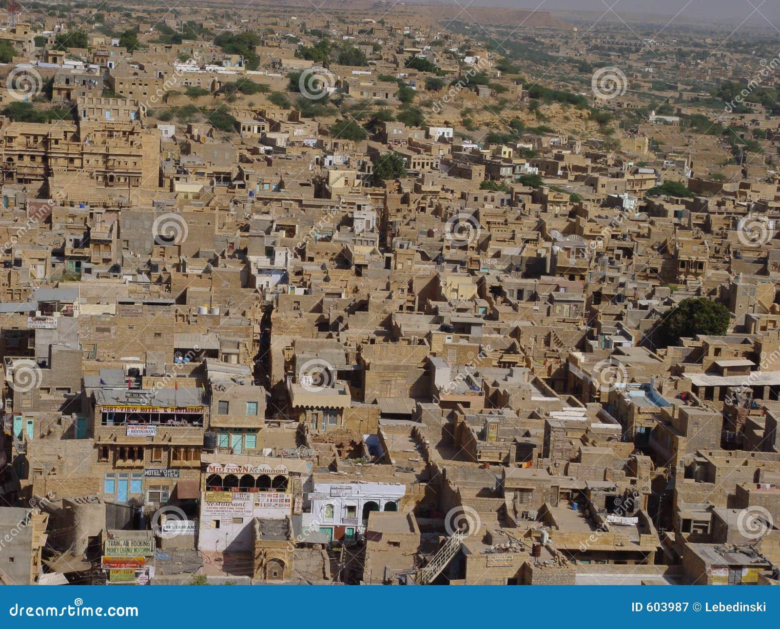 Gele steen Jaisalmer