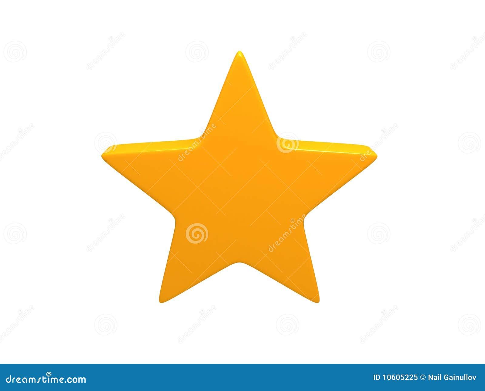 Gele ster